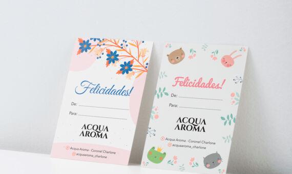 Tarjeta Acqua Aroma