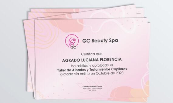 Diplomas GC Beauty Spa