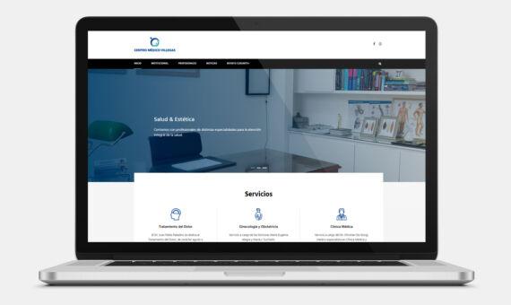 Centro Médico Villegas Sitio Web